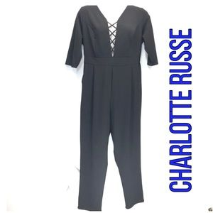 2️⃣ for 💲🔟 Jumpsuit CHARLOTTE RUSSE 1A-41